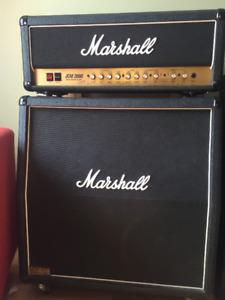 amplificateur Marshall JCM 2000 DSL 100w + cabinet 1969A
