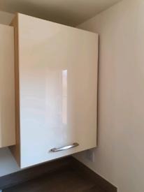 For Sale Moores Kitchens Minocco Ivory Natural Oak Boiler Housing unit