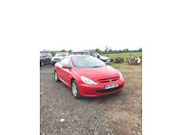 2004 Peugeot 307 CC 2.0 16v Coupe Covertible