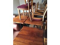 Cafe furniture clearance