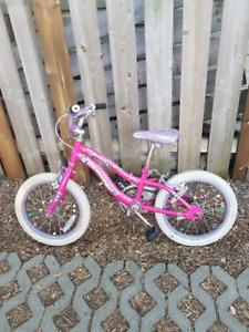 """Kids Girl's Bike 16"""" wheels"""