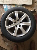 Acura TSX rims and winter tires