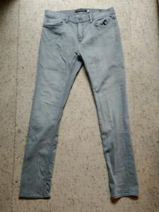 Banana Republic Skinny Rapid Movement Grey Jean