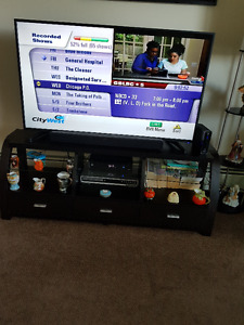 "55"" RCA Smart TV & 60"" Wooden Stand"