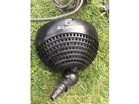 Aquamax 3500 pond pump