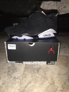 Jordan 6 Chrome Lows Deadstock sz 11
