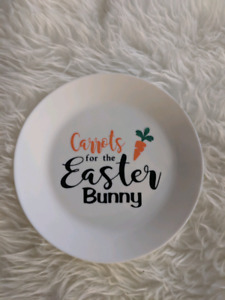 Easter plates,