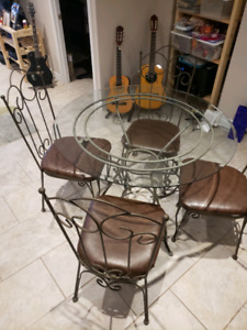 Outdoor Bistro Set chairs table