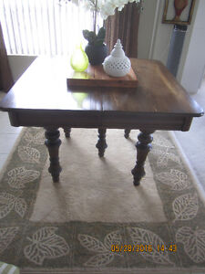 12 Seater Solid Antique Oak Dining Table