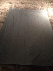 Curtains (Denim).  Excellent condition