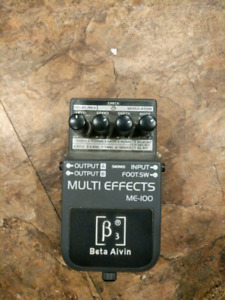Beta aivin multi effect pedal