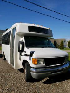 Camper bus conversion