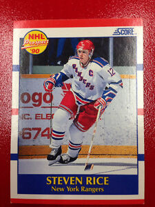 "1990 Steven Rice Prospect Card ""ROOKIE"""