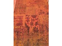 Rust colour Rug