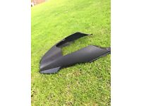 BMW R1200GS tank and front guard scoop.