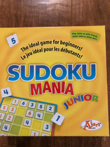 Jeu Sudoku mania junior