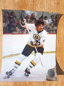 BOBBY ORR Boston Bruins 8 X 10 Photo White Uniform