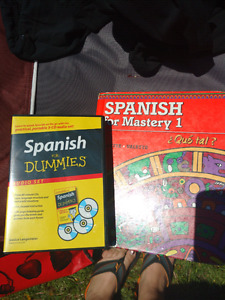French & spanish language textbooks