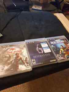Zombie survival Ps3 game collection