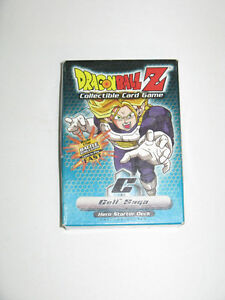 2001 DRAGON BALL Z CELL SAGA CARD GAME WELLAND STILL AVAILABLE