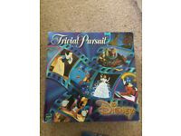 Disney trivial pursuit board game toy
