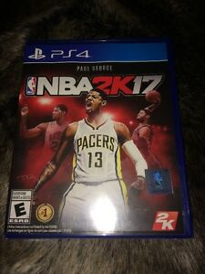 new nba 2k17 not opened for ps4