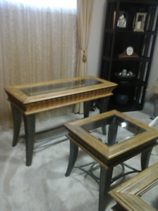 COFFEE TABLE, END TABLE & SOFA TABLE SET