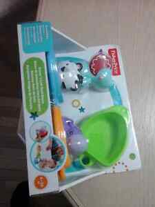 Fisher Price, Scoop n link bath boats, CDC04