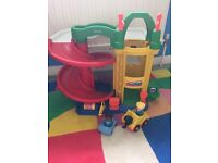 Fisher price car port children's toy