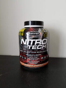 Nitro Tech Whey Isolate + lean muscle builder