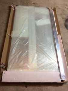 Brand new never been used bathtub shower doors