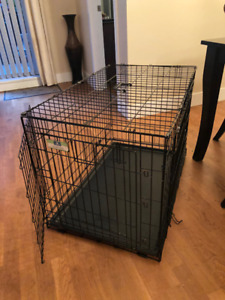 "Dog Kennel 36"" (wire, 2 door, collapsible) - $50 (Arbutus Ridge)"