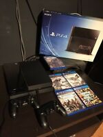 PS4 And Games package
