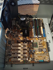 Intel P4 2.8 GHz + Asus motherboard + 1 GB DDR