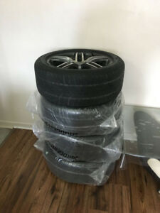 5x112 audi rims and WINTER tires 225 50 r17