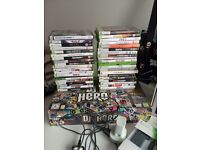 Xbox 360 plus games and accessories