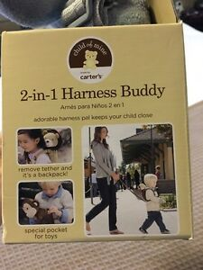 Carters - 2-in-1 Harness Buddy Cambridge Kitchener Area image 4