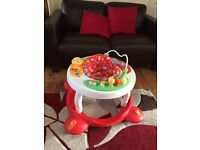 Mothercare 3 way activity walker/table