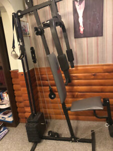 Home gym/ weight bench