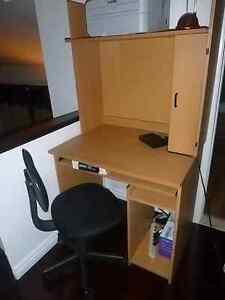 IKEA COMPUTER DESK WITH CHAIR-great deal