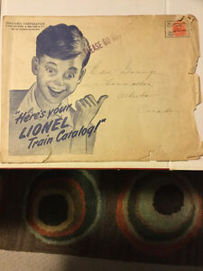 1947 Lionel Train Catalog including mailing envelope Kitchener / Waterloo Kitchener Area image 4