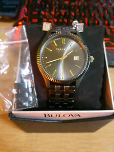 Caravelle by Bulova watch and earings