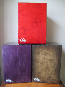 QUALITY HAND CRAFTED KELLY CAJON BOX DRUM