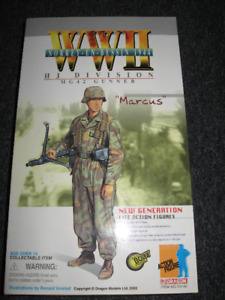 1/6 Scale Dragon WWII Figure ''Marcuss'' - Norrey En Bessin 1944