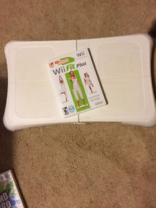 Wii Fit Plus  - Game, Balance Board and Controller.