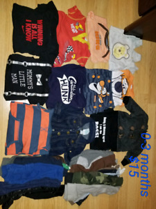 Baby clothes 0-12 months