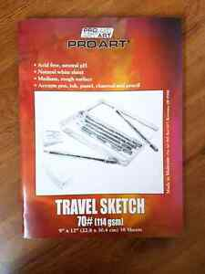 Travel sketch book NEW
