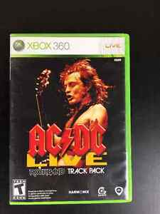 AC/DC Live Track Pack for ROCKBAND on XBOX 360