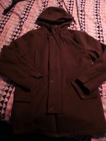 Green Parker jacket xl