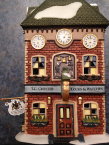 DEPT 56 - T.C. CHESTER CLOCKS & WATCHES #58726 - 2004-2007 - H81